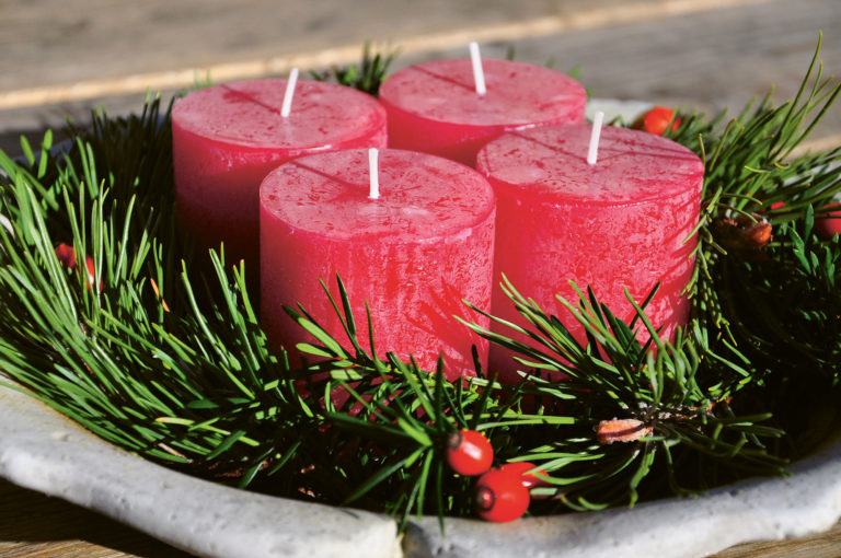 Festliche Adventfloristik