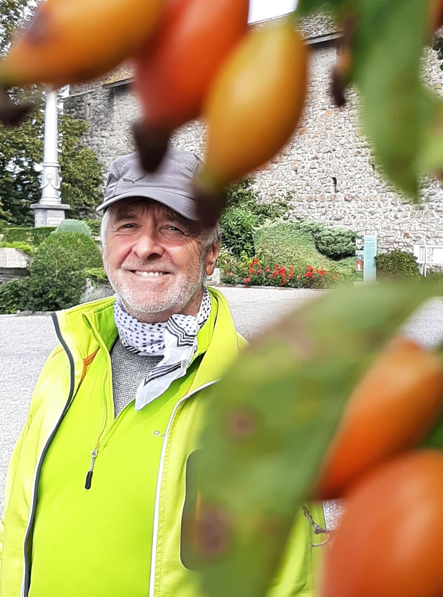 Gartenakademie: Referent Herbert Brandecker