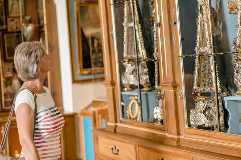 Individuelle Besucher können sich eines erstklassigen Audioguides erfreuen.