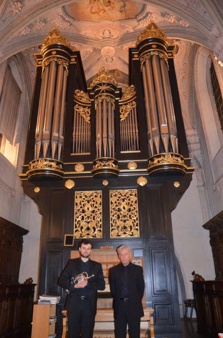 Orgel und Trompete – ein Versprechen